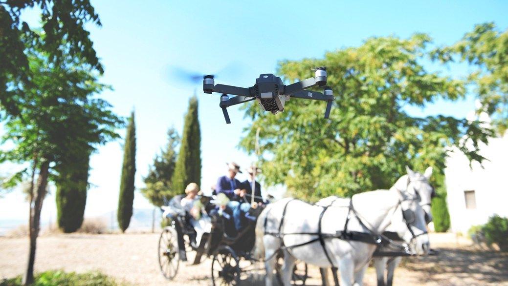 Videos de boda con drone